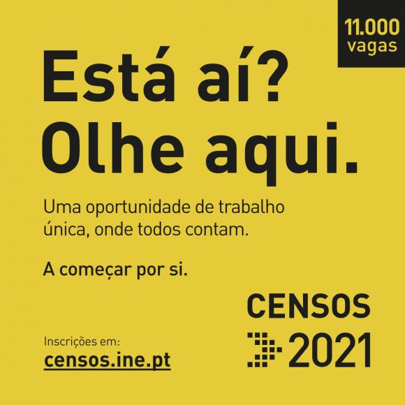 CENSOS 2021 - Venha ajudar a contar!